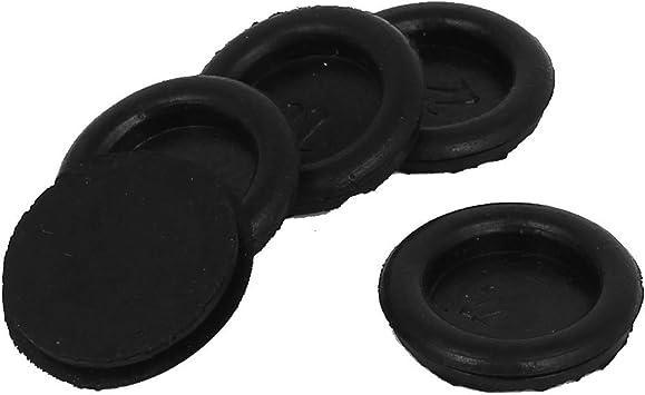 UK SELLER 18 x NEW Rubber grommets closed//blind 25mm