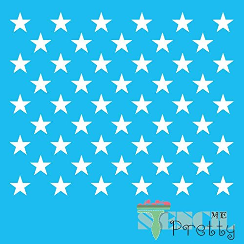 American Flag States Star Stencil (SMP-EB18-VD) For Sale