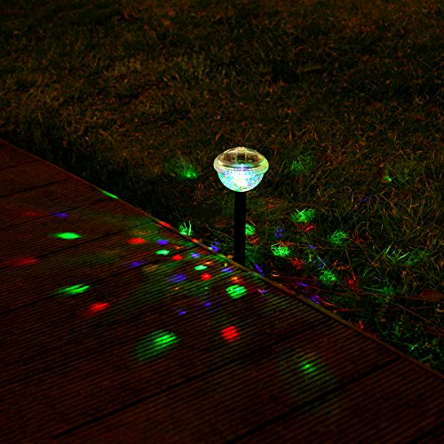 Gigalumi Solar Lights Outdoor Color Changing Garden Led