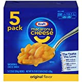 Kraft Original Macaroni & Cheese Dinner (7.25 oz Boxes, Pack of 5)
