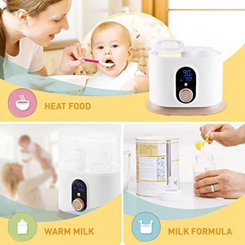 Baby Bottle Warmer Bottle Sterilizer Food Heater Smart