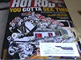 """HOT ROD MAGAZINE """"YOU GOTTA SEE THIS"""" SEPTEMBER 2011 W/12 BLOWERS, 24 CYLINDERS ON COVER"""