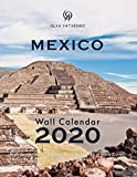 2020 Mexico Wall Calendar: With Large Cells Calendar Grid, featuring Mexico Cities, Landscapes, Pyramids, Mountains, Waterfalls and Wild Nature (Mexico Wall Calendars / Desktop Calendars Series)