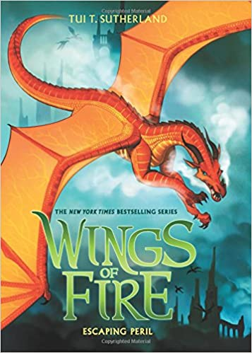 Image result for wings of fire book 8 Escaping Peril