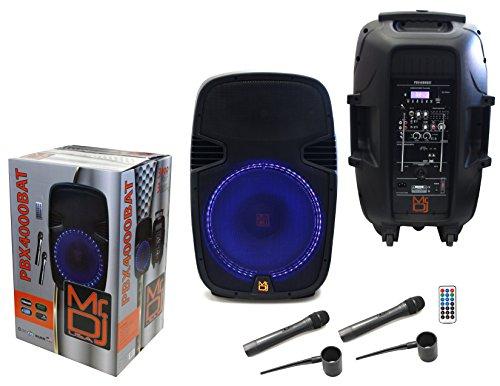 DJ PBX PBX4000BAT Channel PA System by Mr. Dj