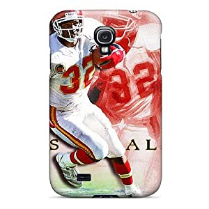 Durable Hard Phone Cover For Samsung Galaxy S4 (vhT18417ltBz) Allow Personal Design Lifelike Kansas City Chiefs Series