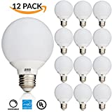 12 PACK - UL & ENERGY STAR LISTED - 6W Dimmable G25 LED Bulb, (=...