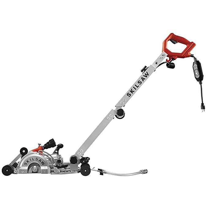 "Best Concrete Saws: SKILSAW SPT79A-10 7"" Walk Behind Worm Drive for Concrete"