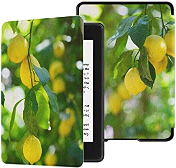Kindle Paperwhite Ereader Case Yellow Lemons On Lemon Tree Kindle ...