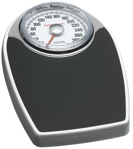 Health o Meter 142KD-41 Professional Dial Scale, White with Black Mat by Health o Meter