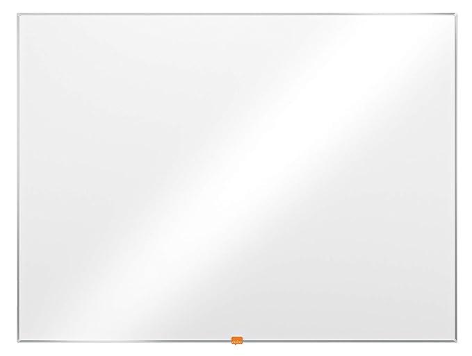 Nobo Basic Pizarra de melamina, No magnética, 1200x900mm, Blanco, 1905203