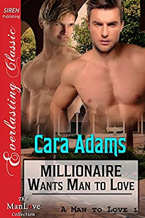 book cover of Millionaire Wants Man to Love