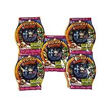 Yo-Kai Watch YO-Motion Series 1 Medals, 5 Pack Blind Bag