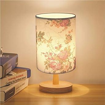 Luz nocturna moderna, minimalista, cálida, lámpara de mesa ...