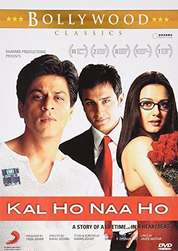 Kal Ho Naa Ho Bollywood DVD With English Subtitles (Shah Rukh Khan Kal Ho Naa Ho)
