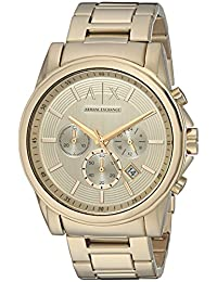 Armani Exchange AX2099 Watch, Men, Gold