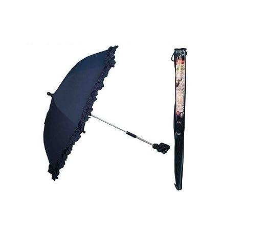 sc 1 st  Amazon UK & Pram Buggy Sun Parasol Detachable Clip Navy Blue: Amazon.co.uk: Baby