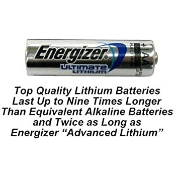 Amazon Com 100 Aa Energizer L91 Lithium Batteries Use