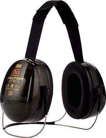 3M Peltor H520B-408-GQ Orejeras de protección, 1 unidad/caja ...