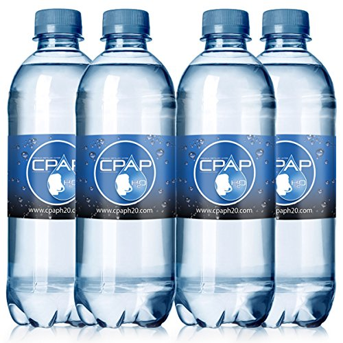 Price comparison product image 16.9 oz CPAP H20 Premium Distilled Water (4-Bottle Pack) 8 Days Supply