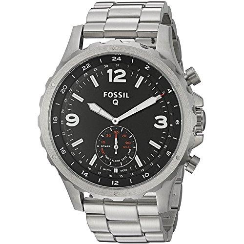 Smartwatch Fossil Q Híbrido Nate Masculino - Ftw1123/1ki
