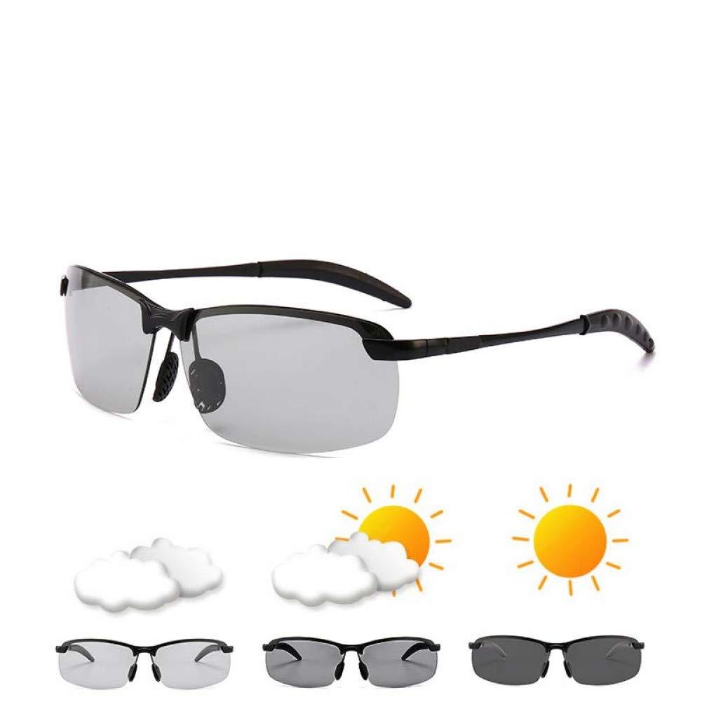 ZHENCHENYZ Photochromic Sunglasses Men Polarized Chameleon Change Color Sunglasses Day Night Vision Driving Eyewear