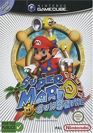 Super Mario Sunshine Fr Import Amazonde Games