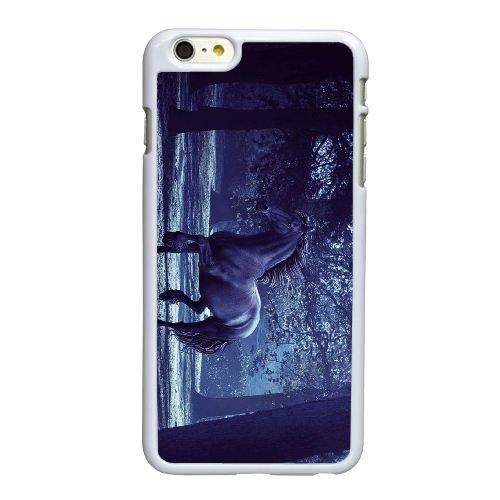 Cheval S5X78 E6P1ZI coque iPhone 6 4.7 pouces cas de couverture de téléphone portable coque blanche KS7TNJ3WI