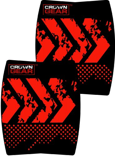 Crown Gear - Torque Ergonomic Grip Pads Workout Weight Lifting Training Hand Protective Grip Pad