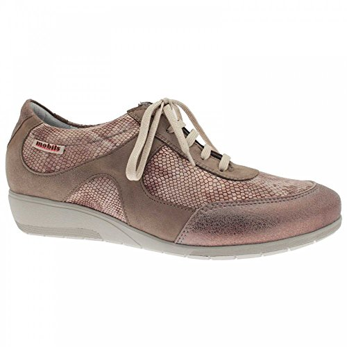 Mephisto Lace Up Trainer Taupe