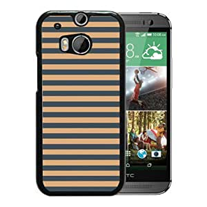 HTC ONE M8 Fossil 10 Black Screen Phone Case Melting and Sweet Style