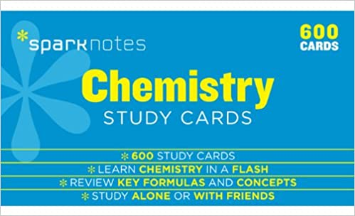 Chemistry sparknotes study cards sparknotes 9781411469945 amazon chemistry sparknotes study cards flc crds edition fandeluxe Images