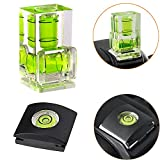 Hot Shoe Level Hot Shoe Cover Hot Shoe Bubble Level Camera Level For Canon, Nikon, Olympus For Any Dslr & Film Camera Perspective Control- [combo Pack - 2 Axis And 1 Axis] | amazon.com