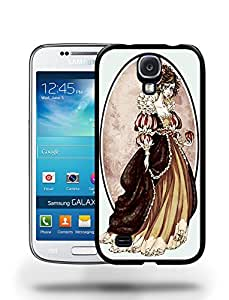 Vintage Retro Fairy Tale Snow Princess Phone Case Cover Designs for Samsung Galaxy S4