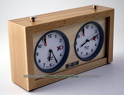 (GARDE Game / Chess Clock Analogue, Wood)