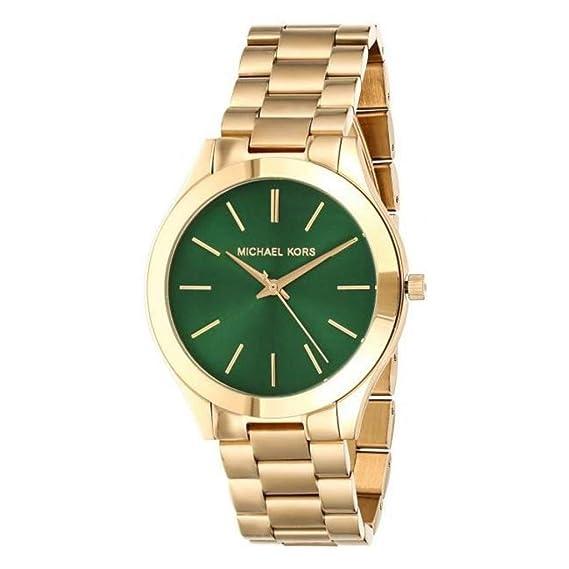 Michael Kors Reloj Analógico para Mujer de Cuarzo con Correa en Acero Inoxidable MK3435: Amazon.es: Relojes