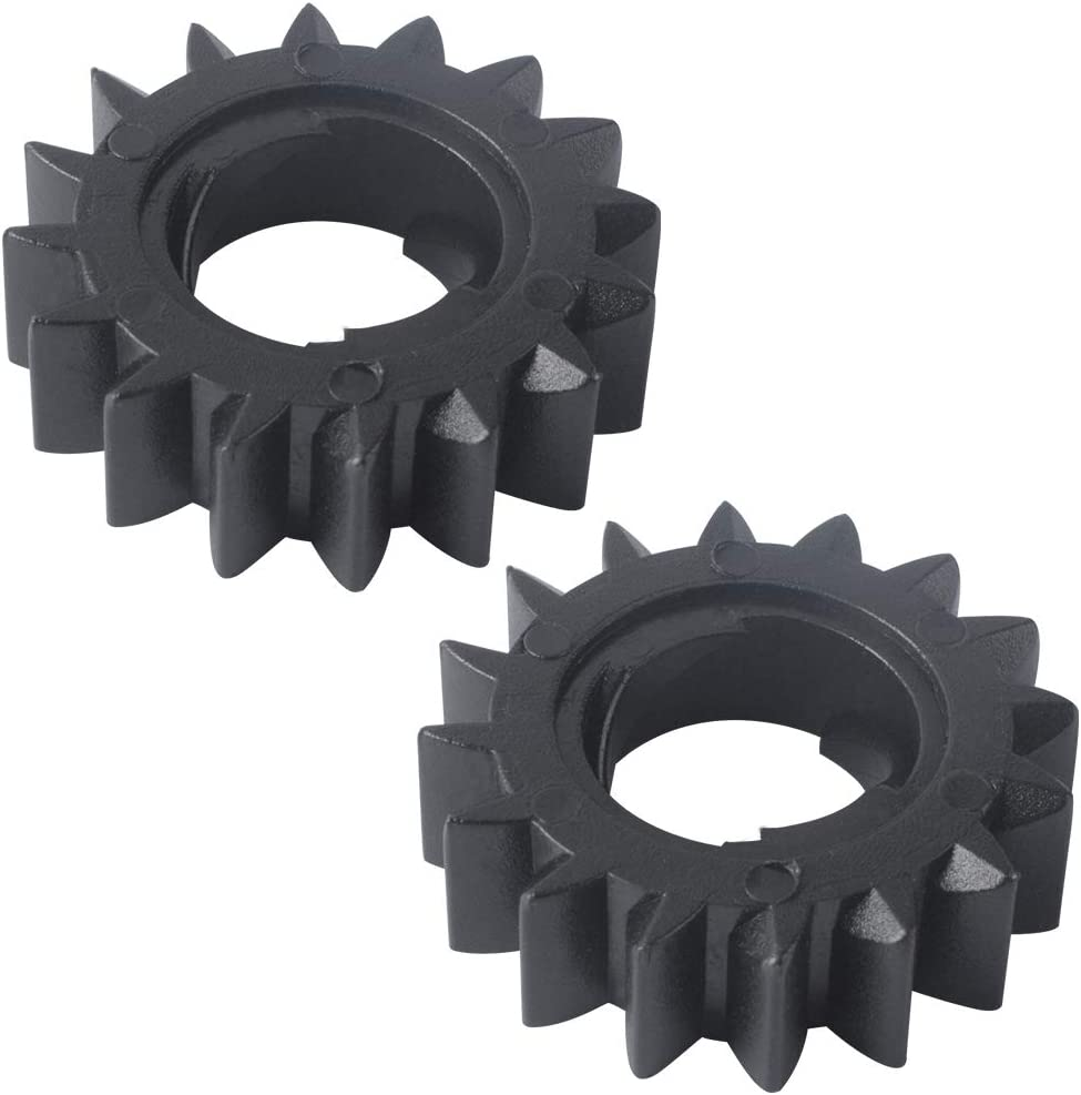 Gekufa 695708 Pinion Gear Compatible with Briggs & Stratton Engine Replaces 693059, 280104, 693058 (Pack of 2)