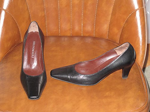 bruno-magli-natural-leather-ladies-classic-black-pumps-size-36-european-6-us