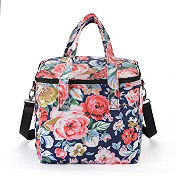 MELROSE Women Fashion Ultra Light Lunch Box Lunch Bag (Blush)