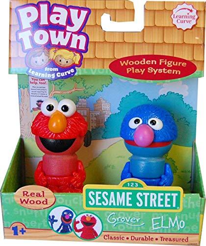 Play Town: Sesame Street Figures - Grover & Elmo 2-Pack