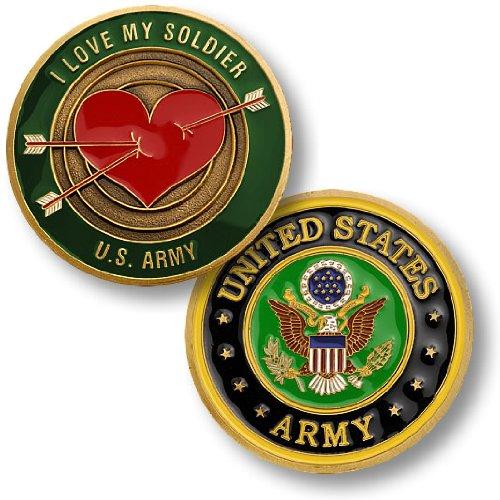 Love My Soldier Challenge Coin