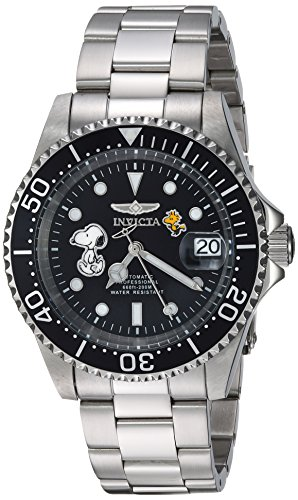 (Invicta Men's Automatic-self-Wind Watch with Stainless-Steel Strap, Silver, 20 (Model: 24785)