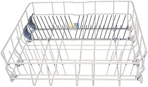 Ersatzteilpartner - Escurreplatos inferior de repuesto para lavavajillas de Bosch Constructa, etc. (con 8 ruedas para cesta)
