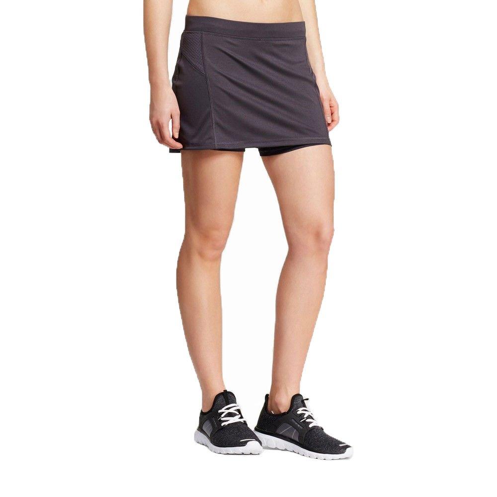 fd1185eaa30f Champion C9 Women Running Skort Duo Dry Inner Short Skirt at Amazon Women s  Clothing store