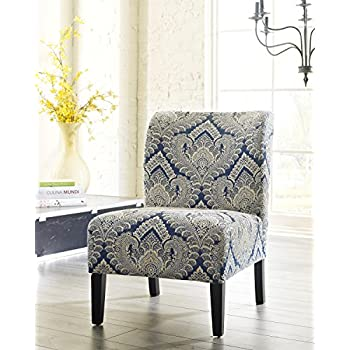 Amazon Com Honnary Curve Back Fabric Accent Chair