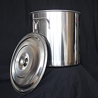 32 Quart 8 gallon Stainless Steel Stock Home Brewery Mash Pot