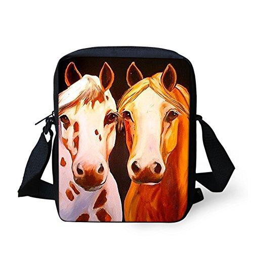 Horse5 HUGS bandoulière IDEA petit Marron femme 4943E Horse1 Sac Y pour qvxqST