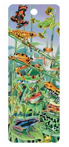 UPC 820492160170, Frogs Hanging Around, 3-D Bookmark with Tassel