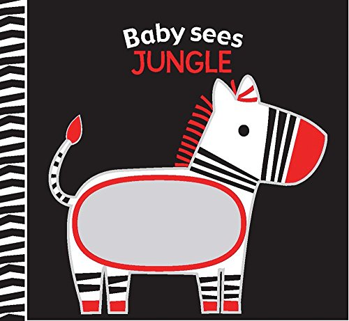 Jungle: A soft book and mirror for baby! (Baby Sees Cloth (Bargain Baby Clothes)