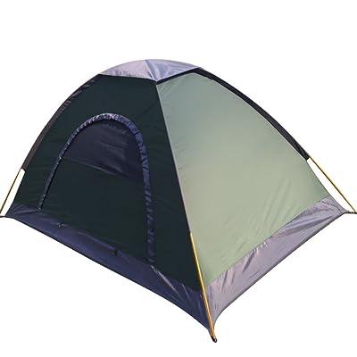 À L'extérieur De La Tente,Tente Automatique Double Porte Simple étanche à La Pluie D'escalade Voyage Tente Camping Avec Grands évents Tentes Dôme